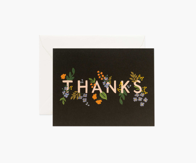 Rifle Paper Co: Posey Thank You Card