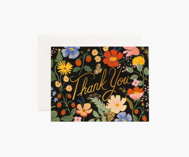 Rifle Paper Co: Strawberry Fields Thank You