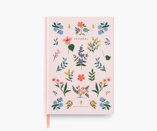 Rifle Paper Co: Wildwood Fabric Journal