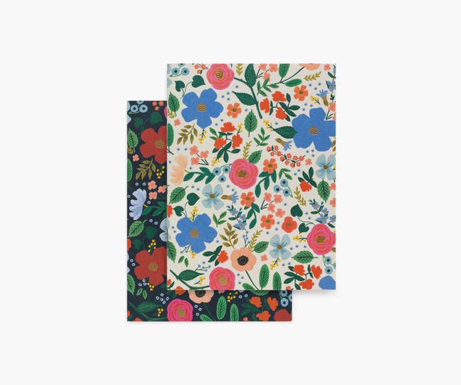 Rifle Paper Co: Wild Rose Set of 2 Notebooks