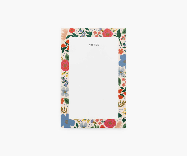 Rifle Paper Co: Wild Rose Notepad