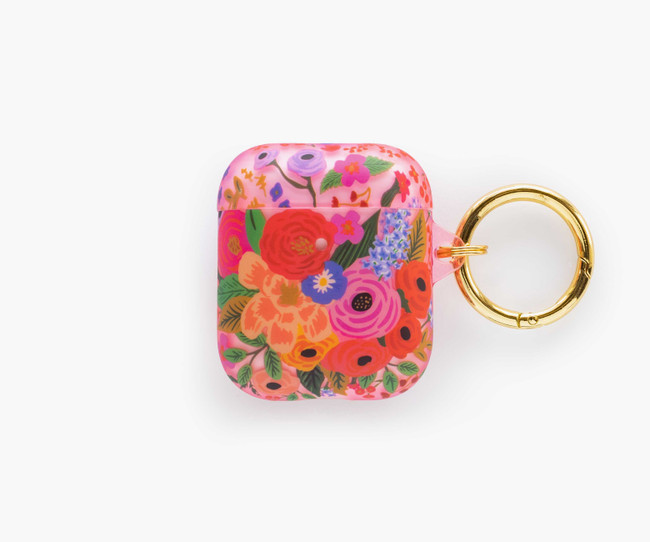 Rifle Paper Co: Clear Garden Party Brush AirPod Case