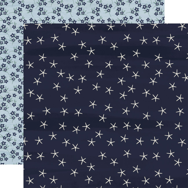 By The Sea: Starfish 12x12 Patterned Paper