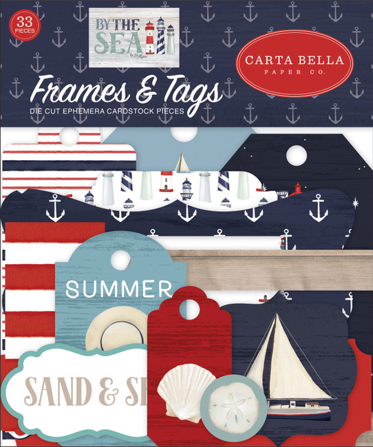 By The Sea: Frames & Tags