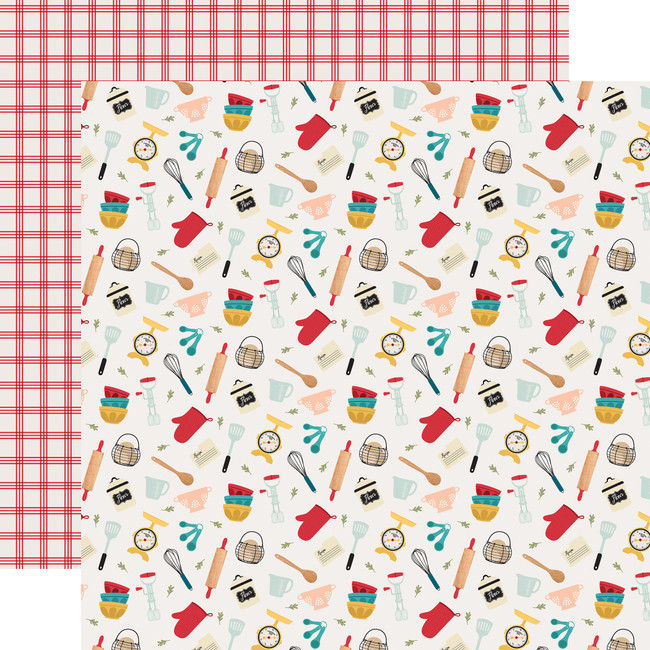 Farmhouse Kitchen: Kitchen Chaos 12x12 Patterned Paper