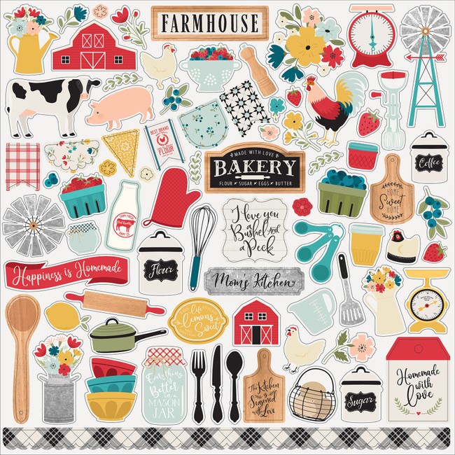 Farmhouse Kitchen: Element Sticker