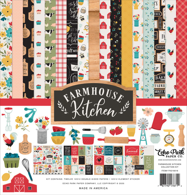 Farmhouse Kitchen: Collection Kit