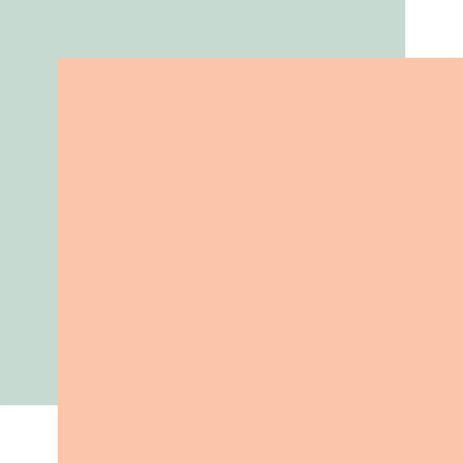 Farmhouse Kitchen: Designer Solids - Pink/Blue 12x12 Patter Paper