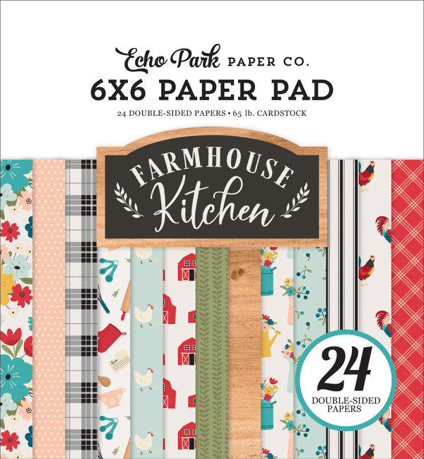Farmhouse Kitchen: 6x6 Paper Pad