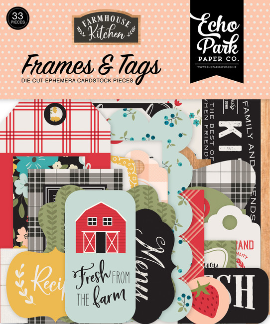 Farmhouse Kitchen: Frames & Tags