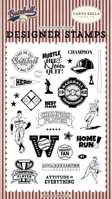 Baseball: Champion Player Stamp