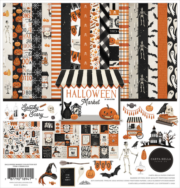 Halloween Market: Halloween Market Collection Kit