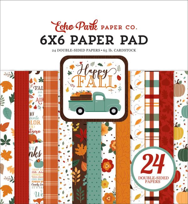 Happy Fall: 6x6 Paper Pad