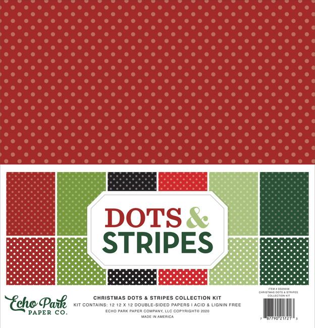 Christmas Dots & Stripes: Collection Kit