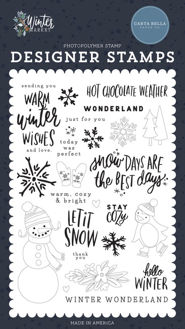 Winter Market: Warm Winter Wishes Stamp Set