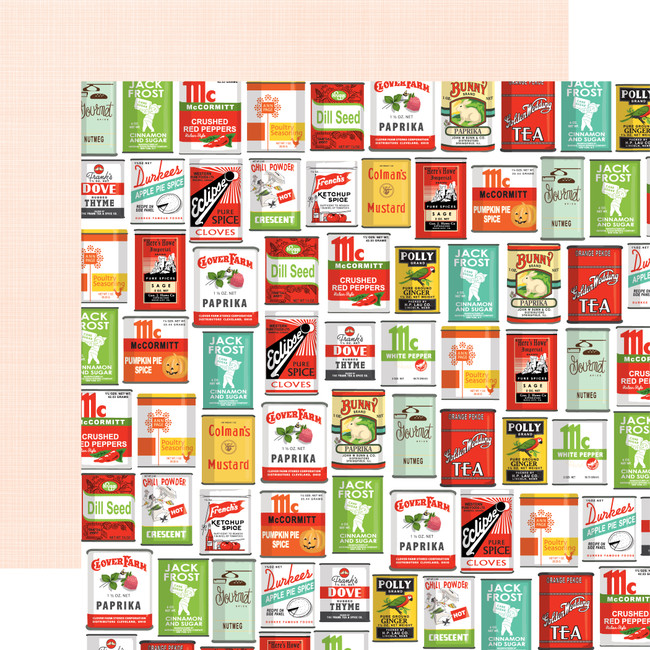 Farm To Table: Spice Up Your Life 12x12 Patterned Paper