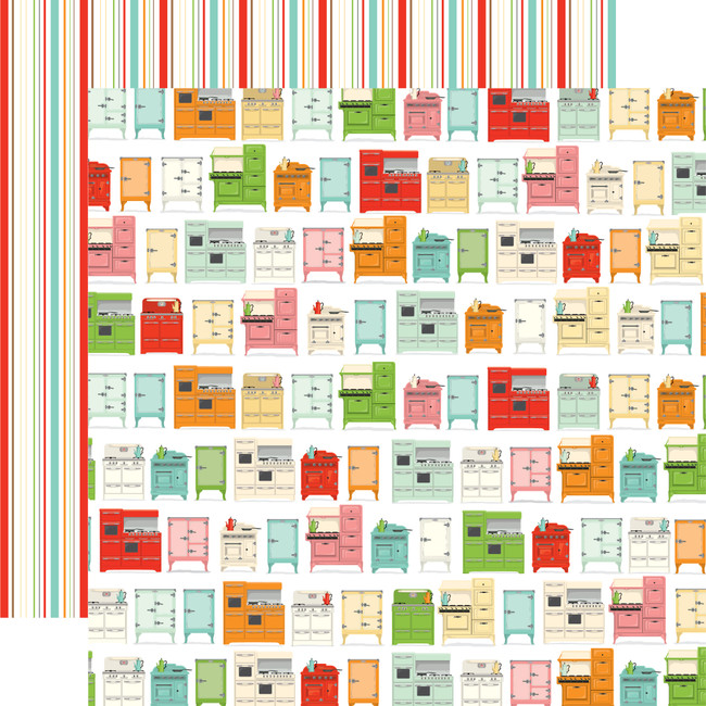 Farm To Table: Kitchen Craze 12x12 Patterned Paper