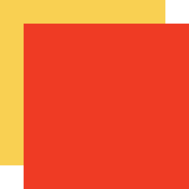 Farm To Table: Designer Solids - Red/Yellow 12x12 Patterned Paper