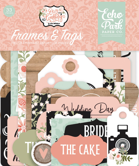 Our Wedding Frames & Tags