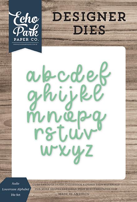 Sadie Lowercase Alphabet Die Set