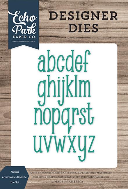 Mckell Lowercase Alphabet Die Set