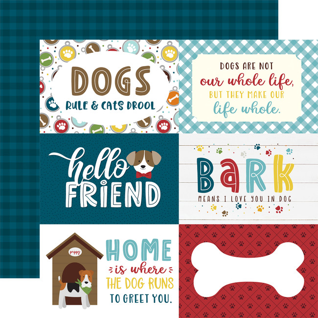 My Dog: 6x4 Journaling Cards