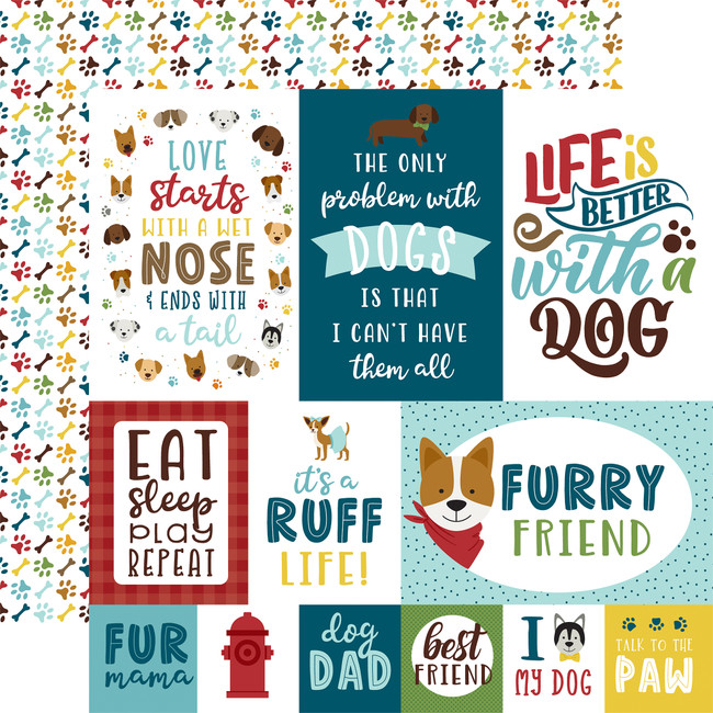My Dog: 4x6 Journaling Cards