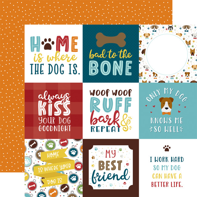 My Dog: 4x4 Journaling Cards