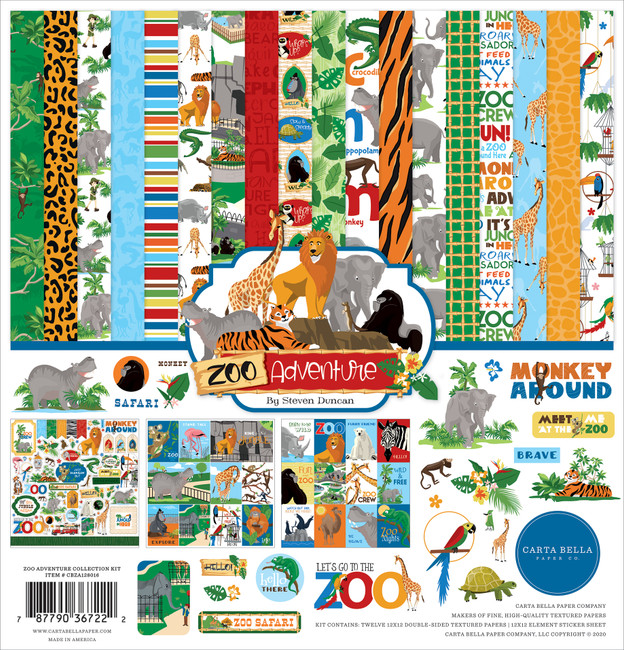 Zoo Adventure: Collection Kit