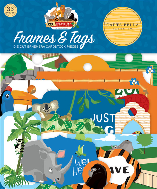Zoo Adventure: Frames & Tags