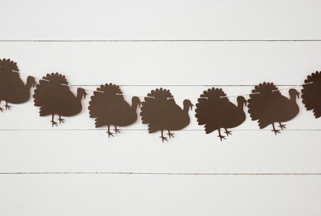 Turkey Garland (3ft)