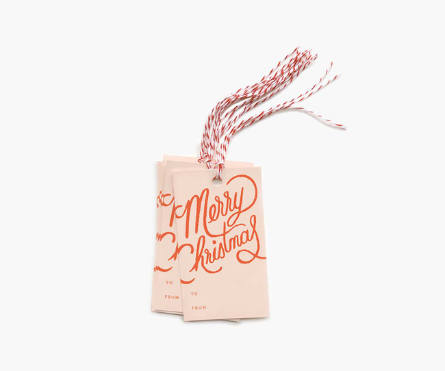 Rifle Paper Co.: Merry Christmas Gift Tags