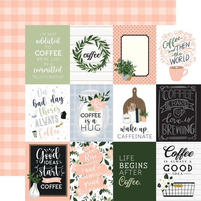 Coffee & Friends: 3x4 Journaling Cards