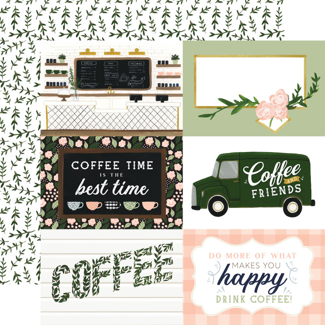 Coffee & Friends: 6x4 Journaling Cards