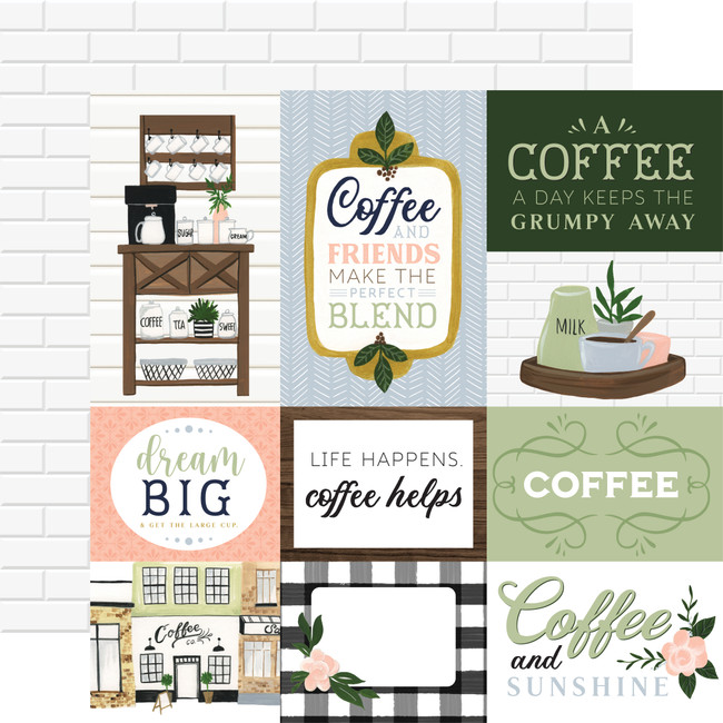 Coffee & Friends: Journaling Cards