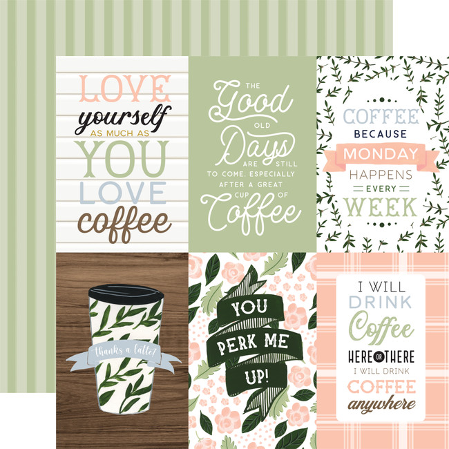 Coffee & Friends: 4x6 Journaling Cards