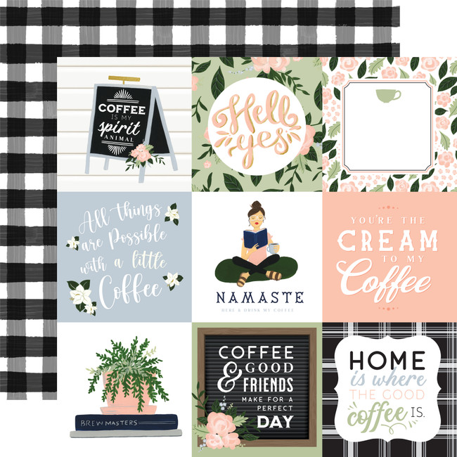 Coffee & Friends: 4x4 Journaling Cards