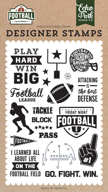 Football: Tackle Stamp Set