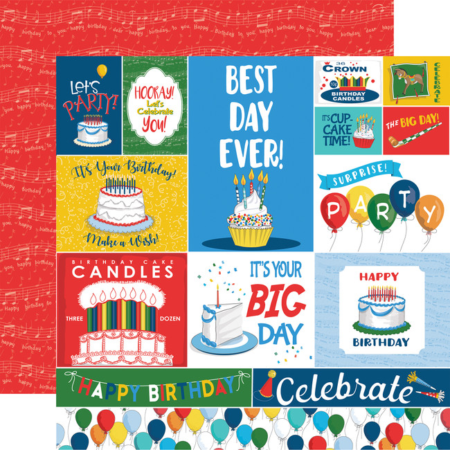 Let's Celebrate: Journaling Cards