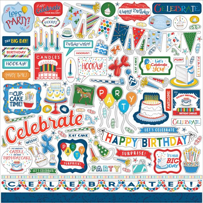Let's Celebrate: Let's Celebrate Element Sticker