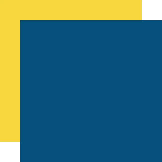 Let's Celebrate: Designer Solids - Navy/Yellow