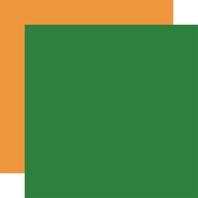 Let's Celebrate: Designer Solids - Green/Orange