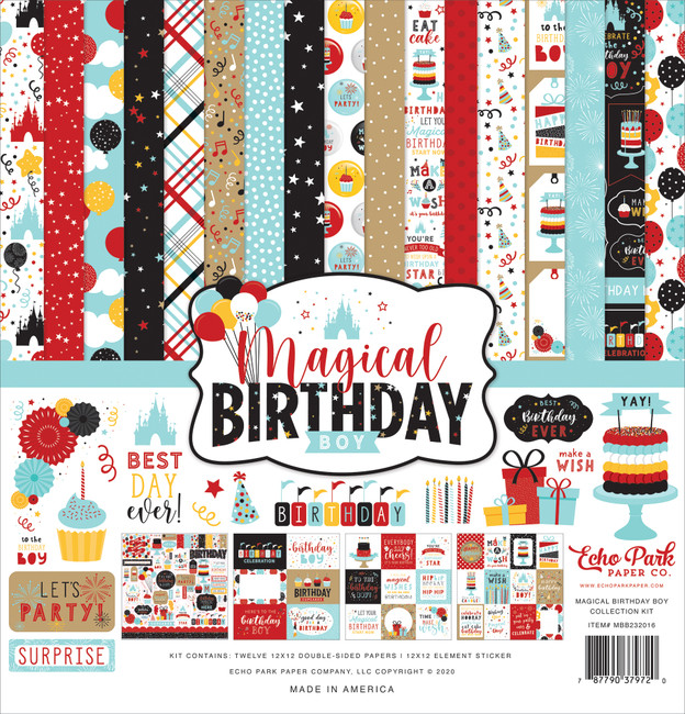 Magical Birthday Boy Collection Kit
