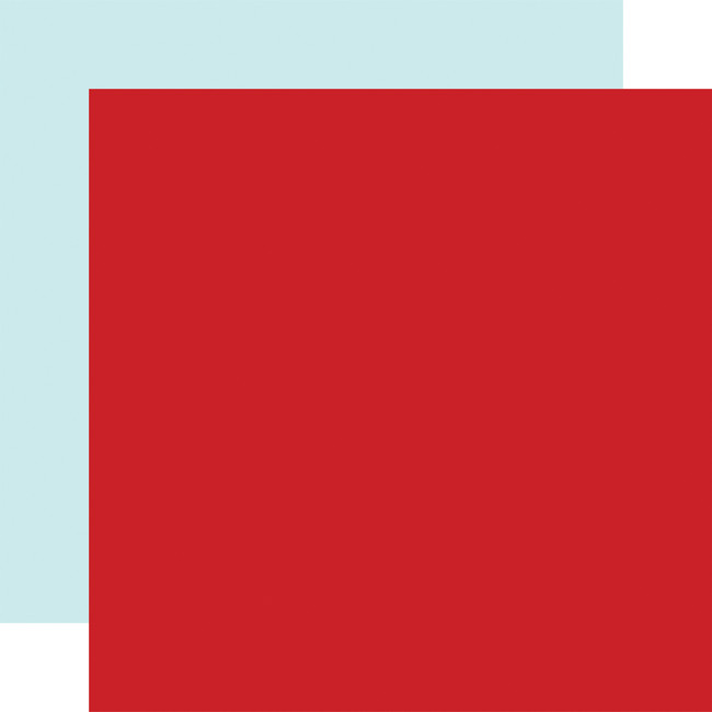 Magical Birthday Boy: Designer Solids - Red/Light Blue