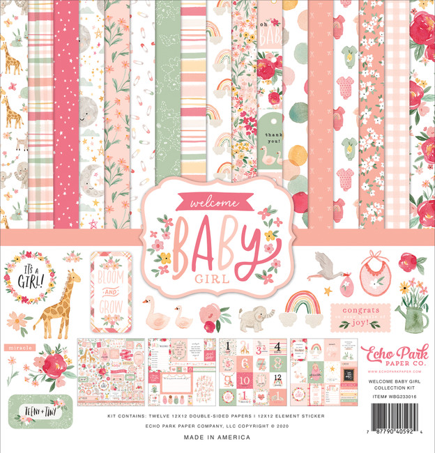 Welcome Baby Girl: Welcome Baby Girl Collection Kit