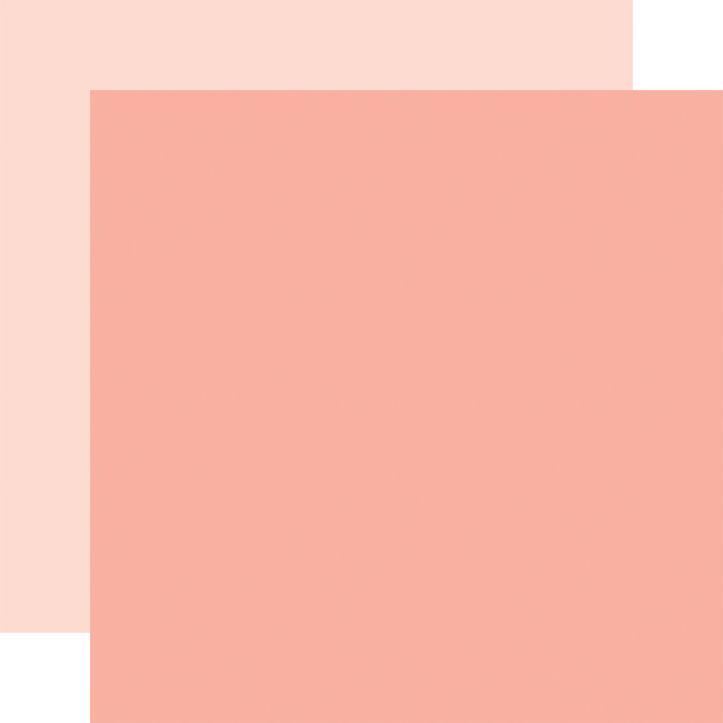 Welcome Baby Girl: Designer Solids - Salmon/Light Pink