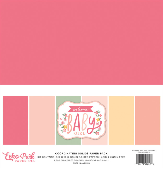 Welcome Baby Girl: Welcome Baby Girl Solids Kit