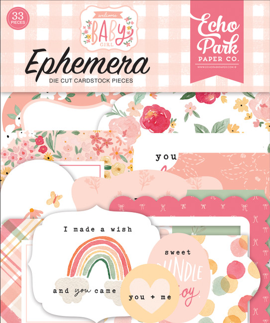 Welcome Baby Girl: Welcome Baby Girl Ephemera