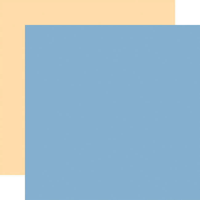 Welcome Baby Boy: Designer Solids - Blue/Yellow