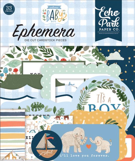 Welcome Baby Boy: Ephemera